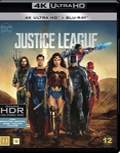 Justice League UHD 4K blu-ray anmeldelse