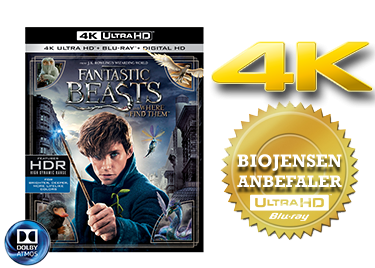 Fantastic Beasts and where to find them UHD 4K blu-ray anmeldelse