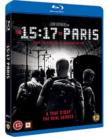 The 15:11 to Paris blu-ray anmeldelse