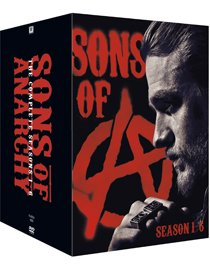 Sons of Anarchy Sæson 1-6 dvd anmeldelse