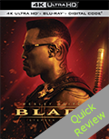 Blade UHD 4K blu-ray Quick review