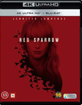 Red Sparrow UHD 4K blu-ray anmeldelse