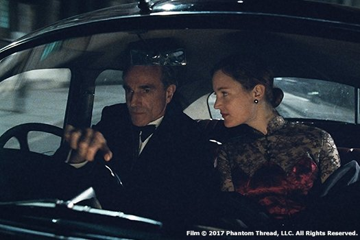 Phantom Thread blu-ray anmeldelse