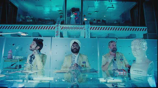 The Zero Theorem blu-ray anmeldelse